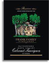 2007 Frank Family Vineyard Cabernet Sauvignon Napa Valley