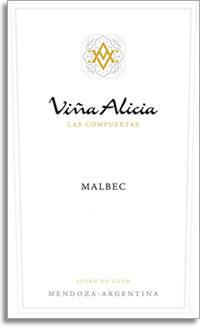 2007 Vina Alicia Malbec Las Compuertas Lujan De Cuyo