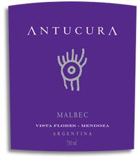 2012 Antucura Malbec Vista Flores Mendoza