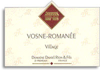 2006 Domaine Daniel Rion et Fils Vosne-Romanee