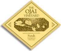 2007 Ojai Vineyards Syrah Thompson Vineyard Santa Barbara County