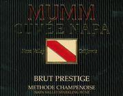 NV Mumm Napa Valley Brut Prestige Napa Valley