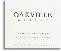 2013 Oakville Winery Cabernet Sauvignon Oakville