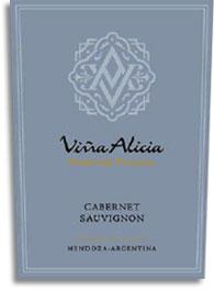 2011 Vina Alicia Cabernet Sauvignon Paso De Piedra Lujan De Cuyo