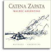 2010 Bodega Catena Zapata Malbec Catena Zapata Argentino Mendoza