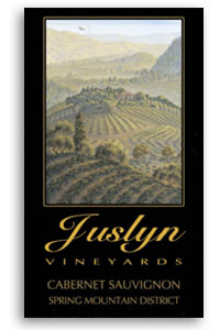 2007 Juslyn Vineyards Cabernet Sauvignon Estate Spring Mountain District Napa Valley
