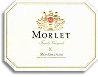 2009 Morlet Family Vineyards Cabernet Sauvignon Mon Chevalier Knights Valley