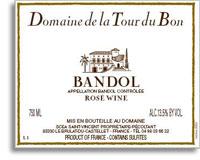 2012 Domaine De La Tour Du Bon Bandol Rose