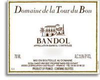 2010 Domaine De La Tour Du Bon Bandol