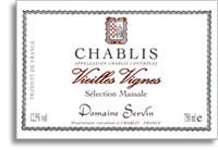 2010 Domaine Servin Chablis Vieilles Vignes Selection Massale
