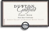 2010 Dutton-Goldfield Pinot Noir Fox Den Vineyard Green Valley of Russian River Valley