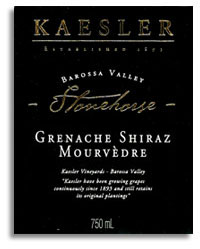 2009 Kaesler Wines Stonehorse Grenacheshirazmourvedre Barossa Valley