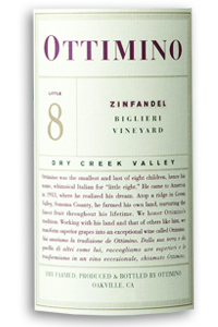 2007 Ottimino Vineyards Zinfandel Biglieri Vineyard Dry Creek Valley