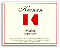 2011 Robert Keenan Winery Merlot Napa Valley
