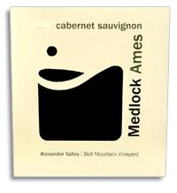 2013 Medlock Ames Cabernet Sauvignon Bell Mountain Vineyard Alexander Valley