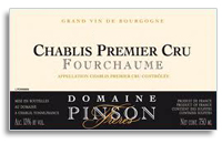 2008 Domaine Pinson Freres Chablis Fourchaume