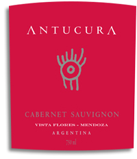 2010 Antucura Cabernet Sauvignon Vista Flores Mendoza