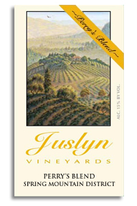 2004 Juslyn Vineyards Red Wine Perry's Blend Spring Mountain District