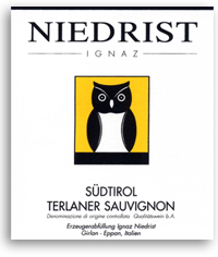 2011 Ignaz Niedrist Sudtirol Terlaner Sauvignon