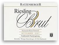 2005 Ratzenberger Bacharacher Kloster Furstental Riesling Brut Sekt