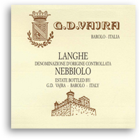 2010 G.D. Vajra Langhe Nebbiolo