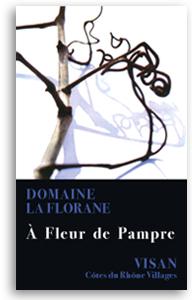 2010 Domaine La Florane Cotes-du-Rhone-Villages Visan A Fleur de Pampre Blanc