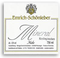 2010 Emrich Schonleber Mineral Riesling Trocken