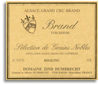2008 Zind Humbrecht Riesling Brand Selection De Grains Nobles