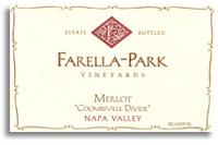 2006 Farella-Park Vineyards Merlot Coombsville Divide Napa Valley