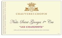 2009 Domaine Chauvenet Chopin Nuits St Georges Les Chaignots