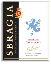 2009 Sbragia Family Vineyards Chardonnay Home Ranch Dry Creek Valley