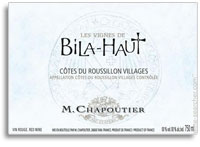 2010 Bila Haut Cotes Du Roussillon