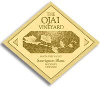 2010 Ojai Vineyards Sauvignon Blanc Mcginley Vineyard Santa Ynez Valley