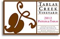 2010 Tablas Creek Vineyard Patelin De Tablas Paso Robles