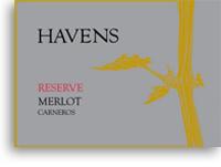 2006 Havens Wine Cellars Merlot Reserve Carneros Napa Valley