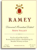 2002 Ramey Wine Cellars Red Wine Diamond Mountain District Napa Valley
