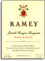 2005 Ramey Wine Cellars Red Wine Jericho Canyon Vineyard Napa Valley