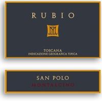 2009 Poggio San Polo Toscana Rubio