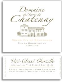 2011 Domaine Des Terres De Chatenay Vire Clesse Chazelle
