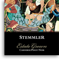 2008 Robert Stemmler Winery Pinot Noir Estate Grown Carneros