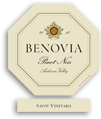 2009 Benovia Winery Pinot Noir Savoy Vineyard Anderson Valley