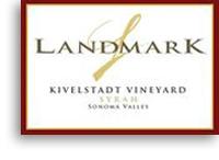 2010 Landmark Vineyards Syrah Kivelstadt Vineyard Sonoma Valley