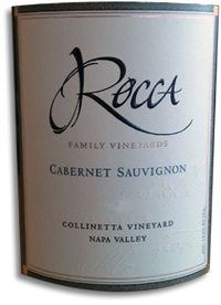 2007 Rocca Family Vineyards Cabernet Sauvignon Collinetta Vineyard Napa
