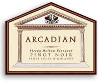 2007 Arcadian Winery Pinot Noir Sleepy Hollow Vineyard Santa Lucia Highlands