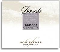 2001 Schiavenza Barolo Bricco Cerretta