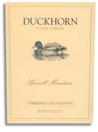 2006 Duckhorn Vineyards Cabernet Sauvignon Howell Mountain Napa Valley