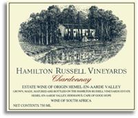 2010 Hamilton Russell Vineyards Chardonnay Hemel-en-Aarde Valley
