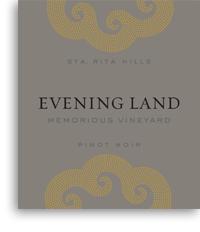 2010 Evening Land Vineyards Pinot Noir Memorious Sta Rita Hills