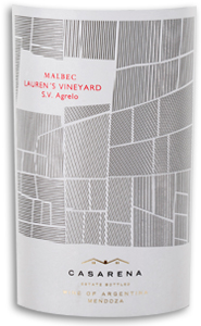 2010 Casarena Malbec Lauren's Single Vineyard Agrelo Mendoza