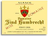 2009 Domaine Zind Humbrecht Pinot Gris